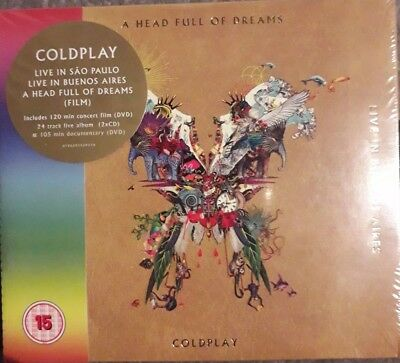 COLDPLAY LIVE IN BUENOS AIRES / SAO PAULO 2 CD & 2 DVD (Released 7/12/2018))