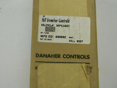 Danaher Eagle Signal MP6A607 60 Sec Sequential Electrical Timer 120 V    G2