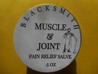 Blacksmith - (Muscle & Joint Pain Relief Salve) - For Sore Muscles & Arthritis