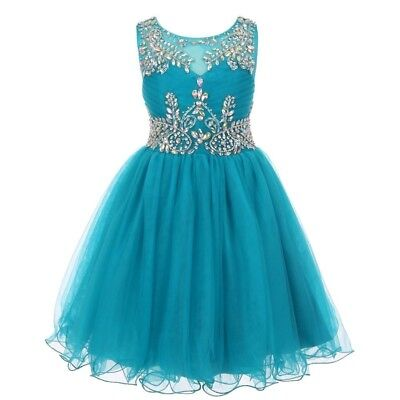 eee023ee33 LITTLE GIRLS EMERALD Green Glitter Bead Wired Hem Tulle Christmas ...