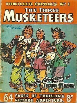 Thriller Comics No.1 (The 3 Musketeers)