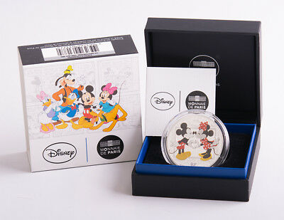 """Frankreich 10 Euro 2018 """"Mickey and Friends"""" PP"""