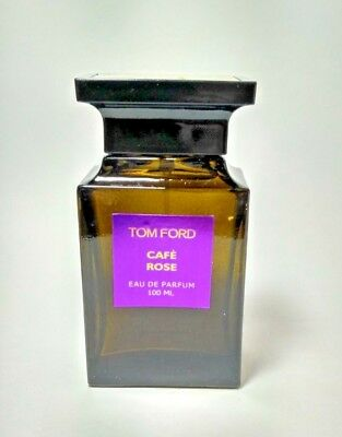 Tom Ford CAFE ROSE Eau de Parfum 100 ml / 3.4 FL.OZ. demonstration box