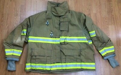 Globe GX-7 Firefighter Bunker Turnout Jacket 58 Chest x 32 Length