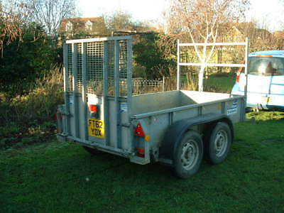 ifor williams GD84G-TA plant trailer