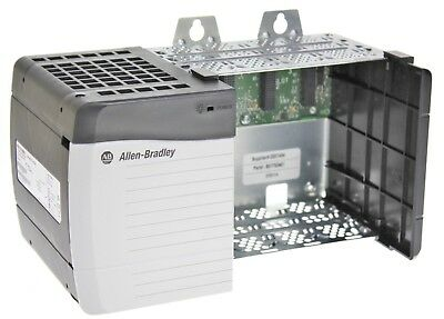 Allen Bradley 1756-PB72 /C ControlLogix 24V DC Power Supply W/1756-A4 /B Chassis