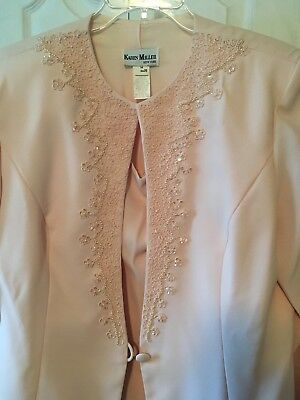 Karen Miller New York Plus Size 20 Pale Pink Mother Of Bride/Groom