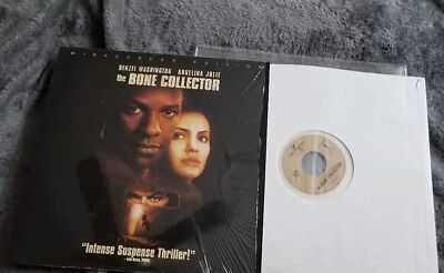 The Bone Collector Laserdisc 1999 Release!  Extremely rare LD!!!!!!!!!!! Look!!!