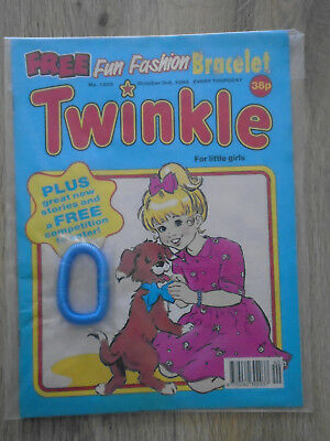 Twinkle Comic # 1289 Oct 3rd 1992 + free gift, Fun Fashion Bracelet