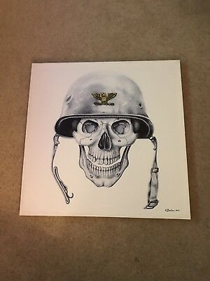 Picture/Drawing WW2 Skull