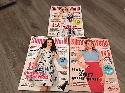 slimming world magazine X3 2016-2017