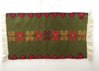 Peruvian Loomed Rug Northern Style 100% Andean Wool