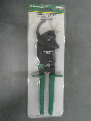 New Greenlee 759 compact ratchet cable cutter cutters 45277