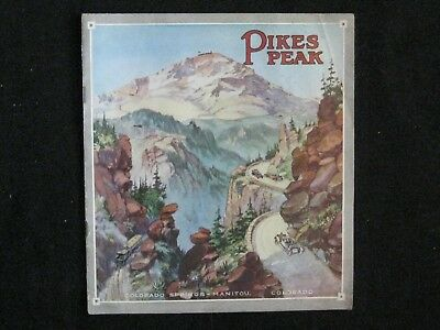 Pikes Peak Cog Railroad Brochure 1903