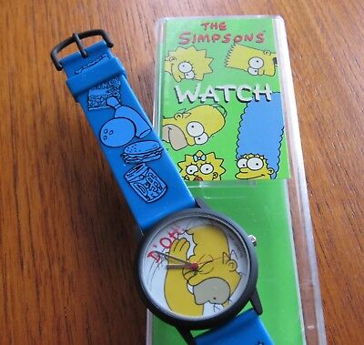 The Simpsons Homer 'D'OH!' Adult Watch (Wesco 1997) new in case