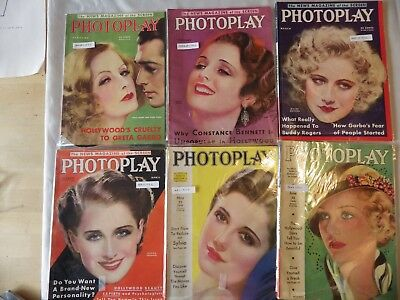 PHOTOPLAY ,  Complete set of 12 Issues, 1932