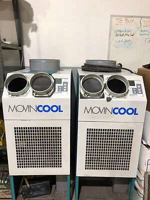 2 Movin Cool Classic Plus 26 Portable Electric Air Condition AC NO RESERVE