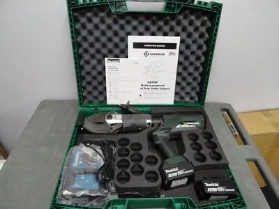 Greenlee ESC85L ESC85L11 18 volt hydraulic cable cutter w/batteries/charger