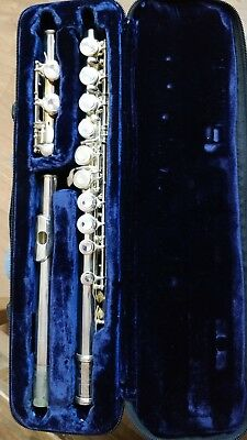 Trevor James Flute TJ10 X II with case and box