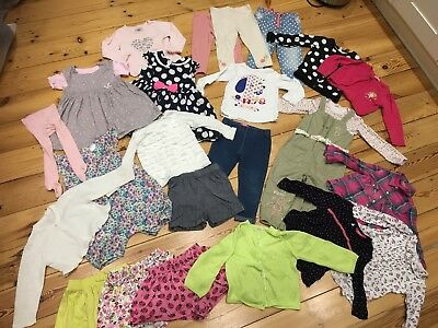 Bundle of girls spring/summer clothes - size 18-24 months