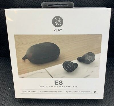 Bang & Olufsen Beoplay E8 Premium Truly Wireless Bluetooth Earphones NEW SEALED