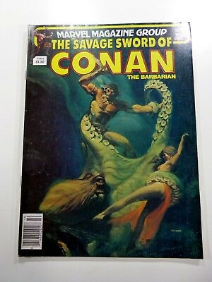 Marvel SAVAGE SWORD OF CONAN (1974) #81 BRONZE AGE CHIODO Cover VF+ Ships FREE!