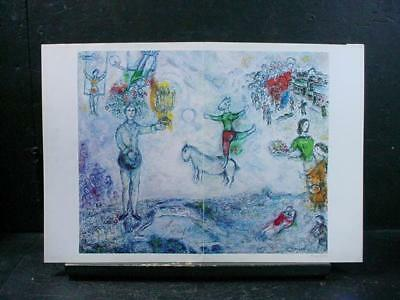 "NobleSpirit NO RESERVE {3970}Print of ""Paysage de Paris"" Signed by Marc Chagall"