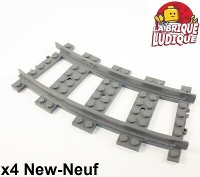 Free p/&p LEGO 53400//53401 Train Track Straight 16 L//courbe 22.5 °