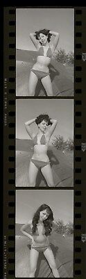 LQQK vintage 1960s negative strip, DELIGHTFUL BIKINI SWIMSUIT GLAMOUR BEAUTY #74