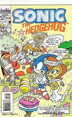 Sonic The Hedgehog #18 Comic Book Archie Very Fine Near Mint