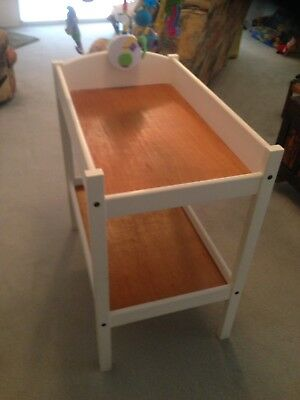 baby change table used