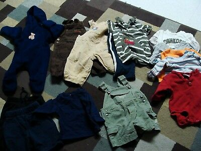 BOY  baby clothes size 6/9 months (lot 14)