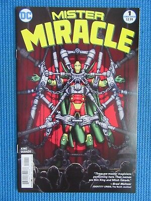 Mister Miracle # 1 - (Nm-) - Super Escape Artist - 1St Issue - 1St Print