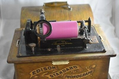 Edison Standard Cylinder Phonograph, Restore or Parts