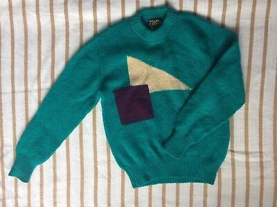 Retro Vintage Chunky Knit Jumper, Size M, Excellent Condition