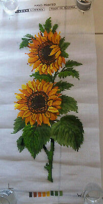 TAPESTRY + SOFT COTTON KIT - 'Sunflowers'