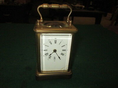 Antique Carriage Clock Great Quality Heavy Old Clock Parts Restore