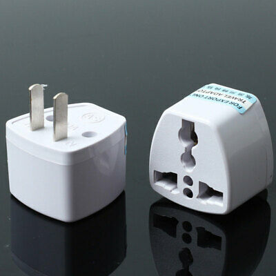 Universal For EU UK AU To US USA AC Travel Power Plug Adapter Outlet Converter