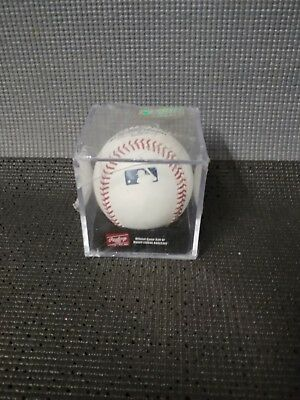 RAWLINGS OFFICIAL MAJOR LEAGUE BASEBALL NEW NEVER USED STILL SEALED IN CASE read