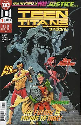 TEEN TITANS SPECIAL #1 LAST PAGE 1st CRUSH DC COMIC BOOK JUNE 2018 1st PTG