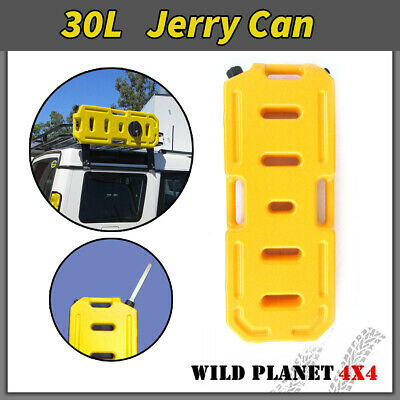 30L Jerry Can Heavy Duty Fuel Container Yellow Spare Container