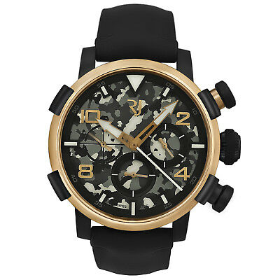 Romain Jerome Pinup DNA Red Gold WWII Sue Chronograph Auto RJ.P.CH.003.01
