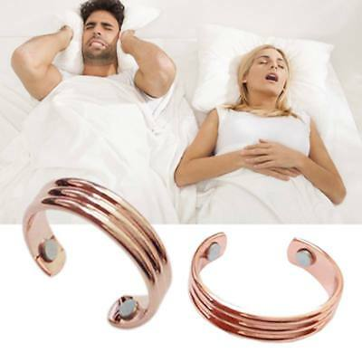 Stopper Ring Double Magnets Health Care Anti Snoring Therapy Snore Ring US