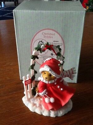 "Cherished Teddies - Avery -""Tis the Season For Cold Winds and Warm Hearts"""