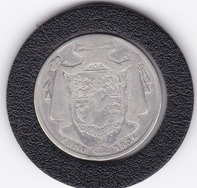 1836   King  William   IV  Half  Crown  (2/6d) -  Silver  92.5%  Coin