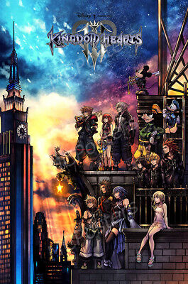 RGC Huge Poster - Kingdom Hearts III 3 PS4 Nintendo Switch POSTER GLOSSY- NVG259