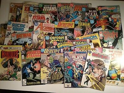 Assorted/ Mixed Lot of Vintage DC Comics- Mostly Bronze Age