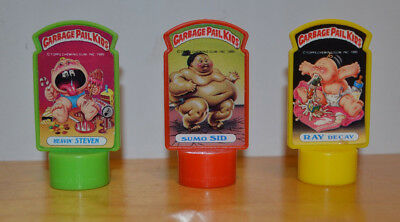 Vintage Garbage Pail Kids Gpk Pencil Billboard Topper Lot Topps 1985 Ray Decay