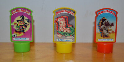 Vintage Garbage Pail Kids Gpk Pencil Billboard Topper Topps Lot Haggy Maggie