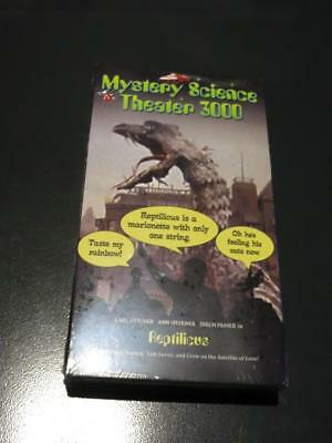 MST3K Kickstarter VHS Reptilicus NEW SEALED MYSTERY SCIENCE THEATER 3000
